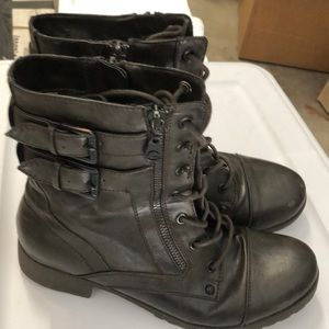 Guess combat style boots